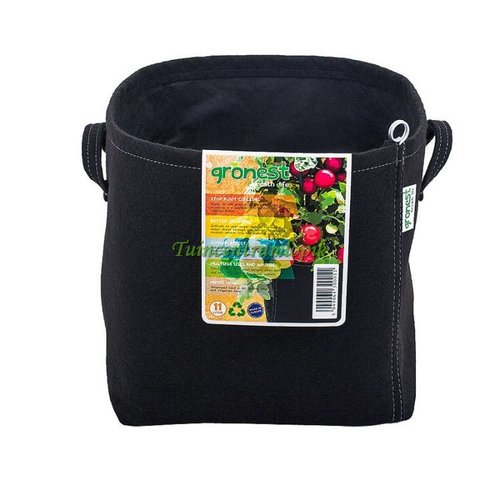 GRONEST AQUA BREATHE FABRIC POT 25 LITER 28.5 X 28.5 X 30 CM