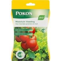 Bio moestuinplanten voeding 100 gram