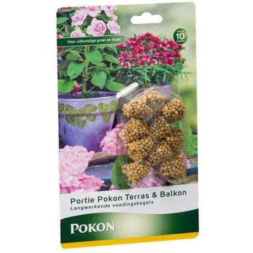 Pokon Terras&balkonplanten voedingskegels 10 stuks