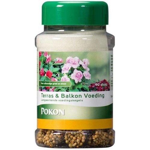 POKON  Terras&balkonplanten voedingskegels 40 stuks