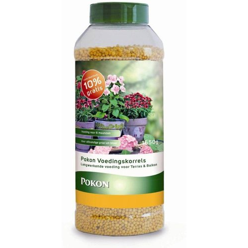 POKON  Terras&balkonplanten voedingskegels 750 gram