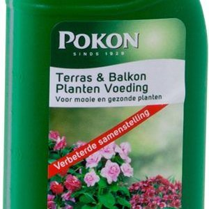 POKON  TERRAS & BALKON PLANTEN VOEDING 1 LITER