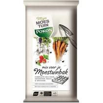 Bio aarde mix voor Moestuin Bak 45 ltr