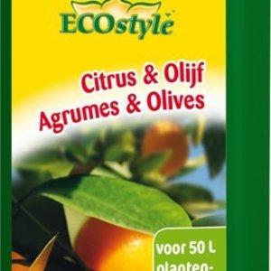 ECOSTYLE CITRUS & OLIJF PLANTENVOEDING 500ML