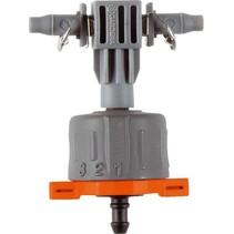 Micro Drip seriedruppelaar instelbaar & drukcompenserend per 5 stuks