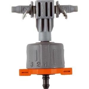 Gardena Micro Drip seriedruppelaar instelbaar & drukcompenserend per 5 stuks