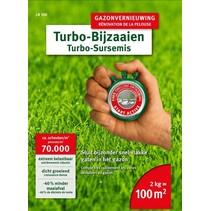 LR 100 Turbo Bijzaaien 2kg = 100m²  gazon herstel