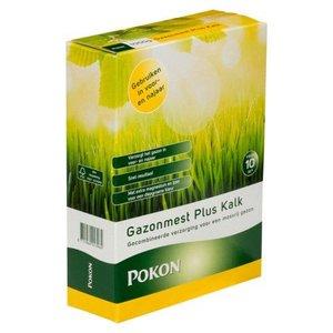 POKON  Gazonmest Plus Kalk 1 kg