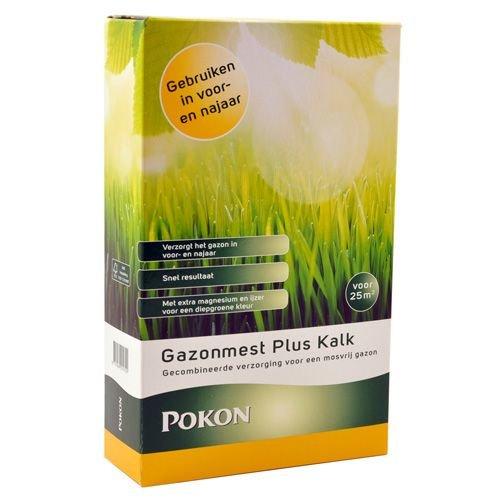 POKON  GAZONMEST PLUS KALK 2.5KG
