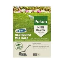 GAZONMEST MET KALK 3-IN-1 30M²