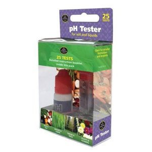 Garland BODEM & VLOEISTOF PH TEST KIT (25 TESTS)
