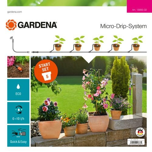 GARDENA MICRO DRIP SYSTEM STARTSET BLOEMPOTTEN S