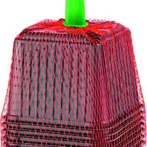 Romberg Plastic Potjes 9cm zwart 12 st.