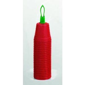 Romberg Plastic Potjes 6cm rond terracotta 22st. (30) 73226K