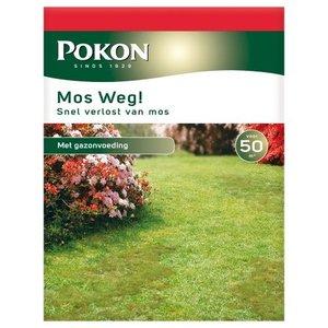 POKON  MOS WEG! 1750 GRAM 50M²