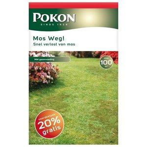 POKON  MOS WEG! 3500 GRAM 100M²