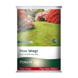 POKON  MOS WEG! 7 KG 200M²