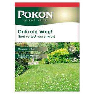 POKON  ONKRUID WEG! 800 GRAM 40M²
