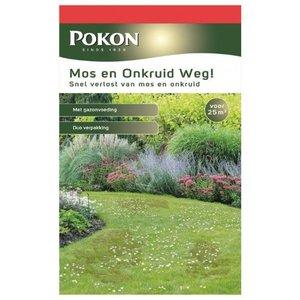 POKON  MOS EN ONKRUID WEG! (3-IN-1) 1375 GRAM 25M²