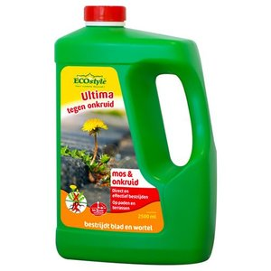 ECOstyle ULTIMA ONKRUID & MOS CONCENTRAAT 2,5 LITER