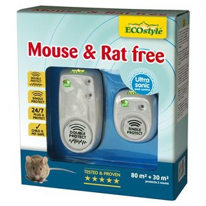 ECOstyle MOUSE & RAT FREE 80M² + 30M² - 2 KAMERS