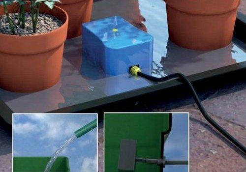Druppelsystemen en shrubblers