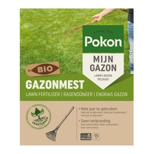 POKON  BIO GAZONMEST VOOR 15 M²