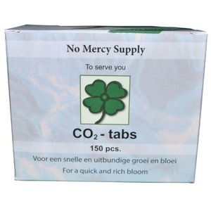 No Mercy Supply CO2-Tabs 150 Tabs stuks