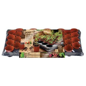 Grow-it Groei Tray 40 PotjesØ6 cm (6) 084.53