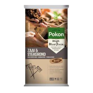 POKON  ZAAI- & STEKGROND BIO 10 LITER