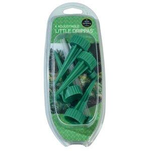 LITTLE DRIPPA INSTELBARE DRUPPELAAR VOOR PLASTIC FLESSEN (4 STUKS)