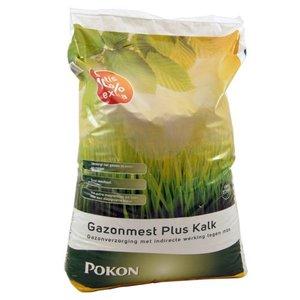POKON  GAZONMEST PLUS KALK 22KG