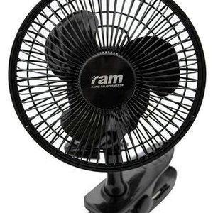RAM VENTILATOR MET CLIP 15 CM, 15 W