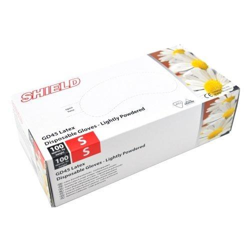 SHIELD LATEX HANDSCHOENEN MAAT S (7) 100ST/DOOS