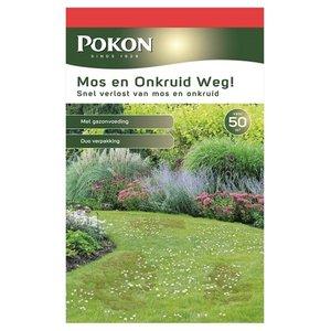 POKON  MOS EN ONKRUID WEG! (3-IN-1) 2750 GRAM 50M²