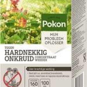 POKON  TEGEN HARDNEKKIG ONKRUID CONCENTRAAT 100 ML