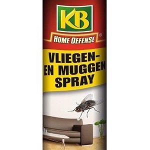 KB Home Defense VLIEGEN EN MUGGEN SPRAY 400 ML