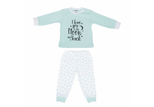 Beeren Beeren Baby Pyjama To The Moon Mint