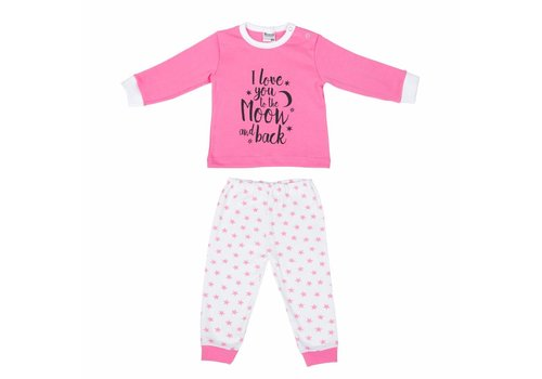 Beeren Beeren Baby Pyjama To The Moon Roze