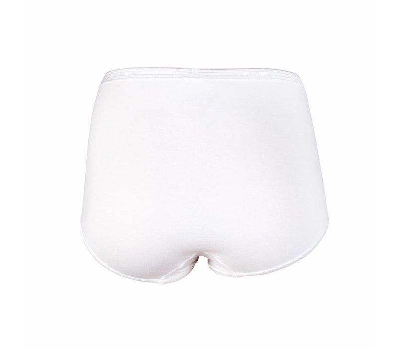 Beeren Dames Maxislip Comfort Feeling Wit voordeelpack