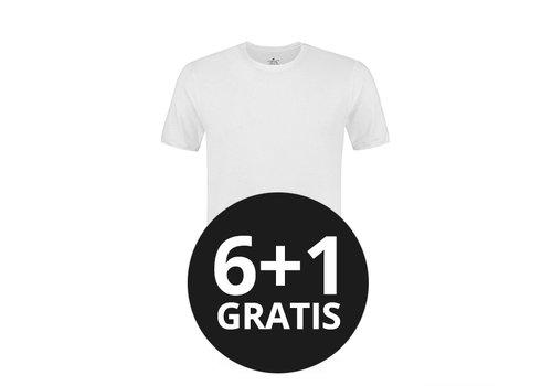 MW underwear Heren T-Shirt Extra Lang Wit