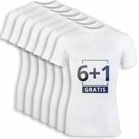 Beeren Heren Comfort Feeling T-Shirt Wit voordeelpack