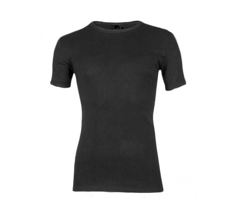 Heren Bamboo T-Shirt Zwart voordeelpack
