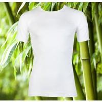Heren Bamboo T-Shirt Wit Mega Voordeelpack
