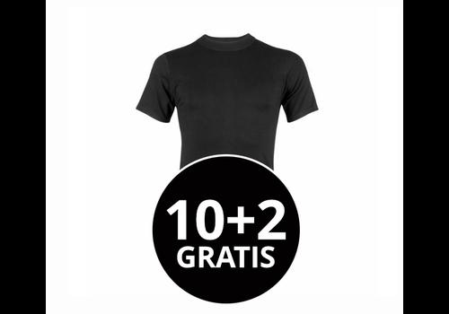 Beeren Heren Comfort Feeling T-Shirt Zwart mega voordeelpack