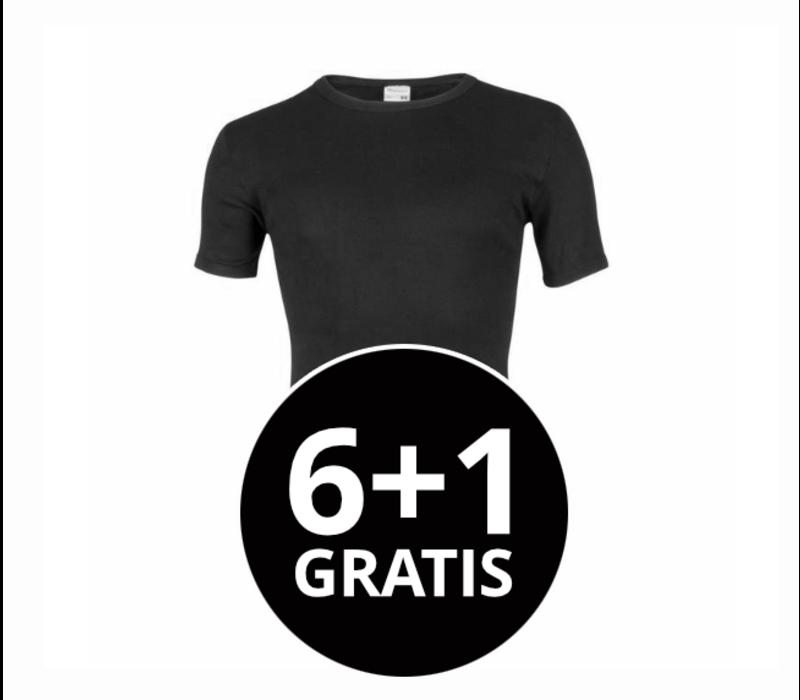 Beeren Heren T-Shirt M3000 Zwart voordeelpack