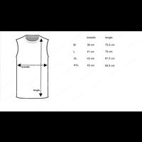 Beeren Heren Extra Lang Mouwloos Shirt Wit Mega voordeelpack