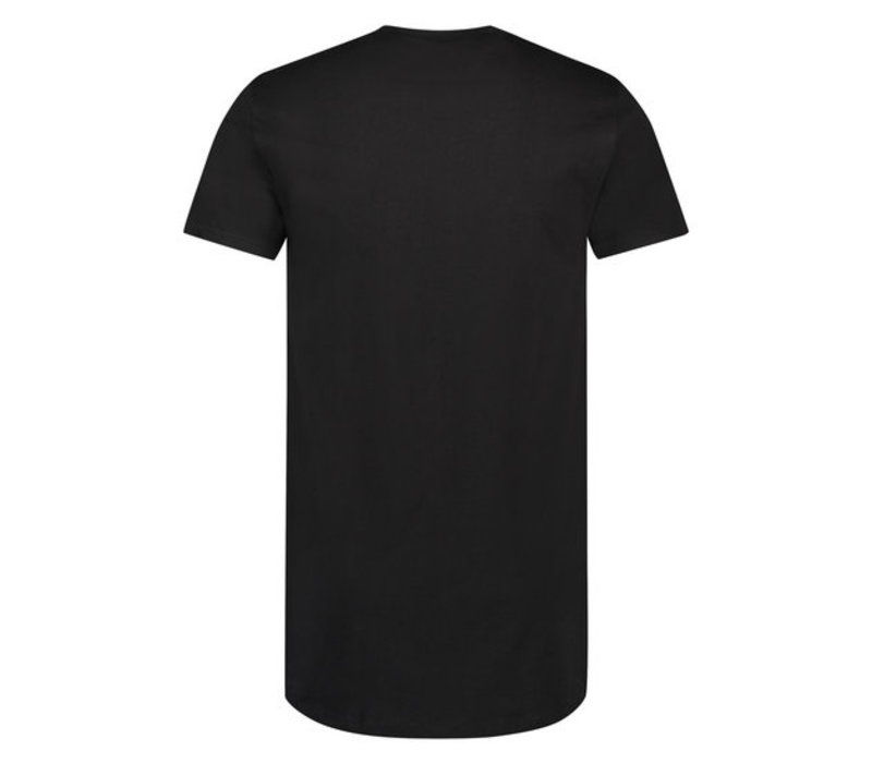 Heren T-Shirt American Classic Oversized Zwart