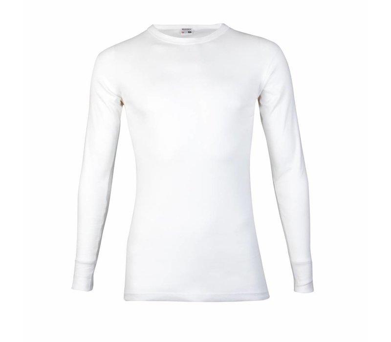 heren T-shirt lange mouw M3000 Wit Mega voordeelpack