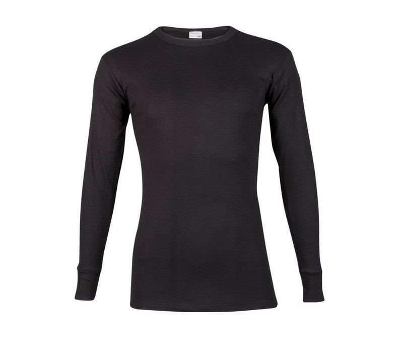 heren T-shirt lange mouw M3000 zwart voordeelpack